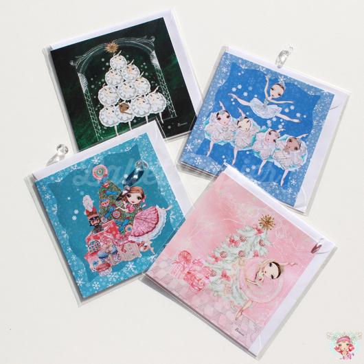 クリスマスカード NEW!!(全5種 本体価格:¥390)