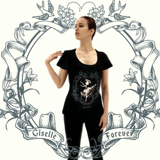 【予約販売】Tシャツ・GISELLE FOREVER(本体価格:¥3900)