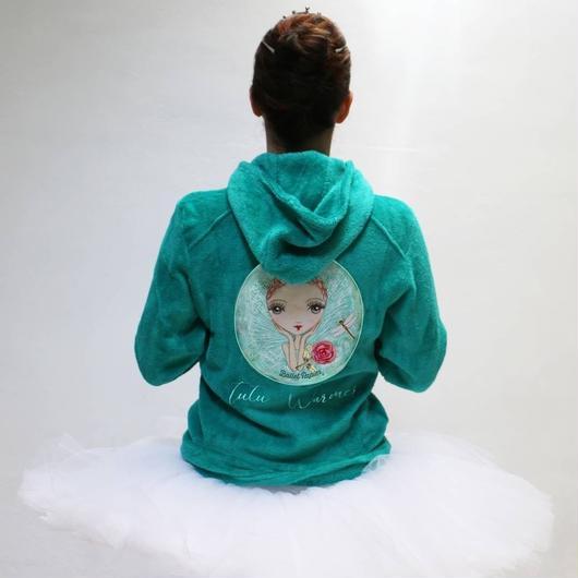 【限定・入荷待ち商品】フード付きフリースジャケット Dream Tutu Warmer Fleece Jacket