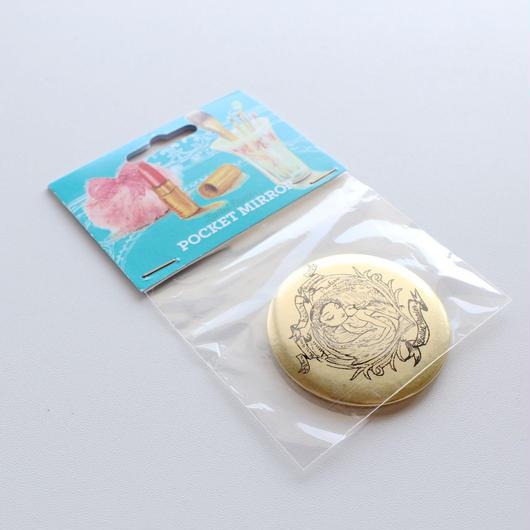 【訳ありセール】ポケットミラー(PAVLOVA本体価格:¥700)MAP01