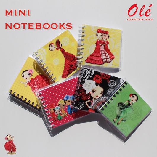 Oléミニノート (全6種・本体価格:¥400)