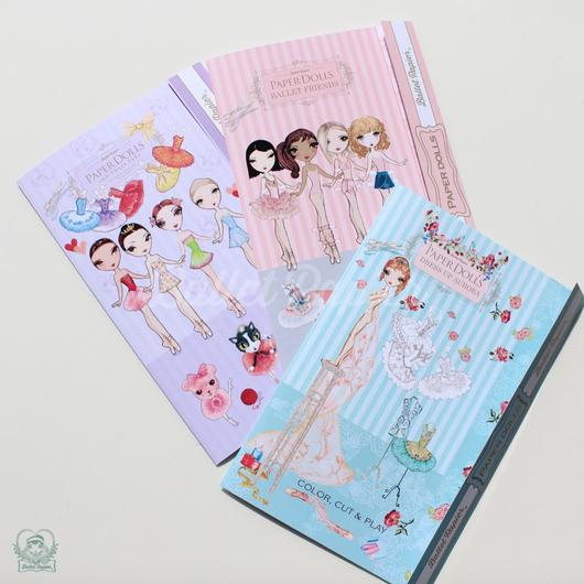 PAPER DOLLS SET・着せ替え人形セット(全3種・本体価格:¥1,880)