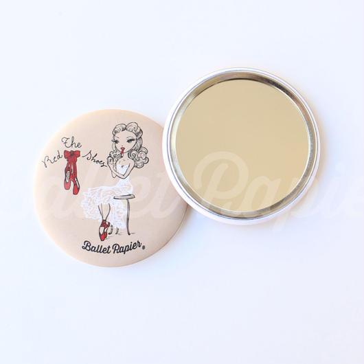 ポケットミラー(THE RED SHOES 本体価格:¥600)MAR01