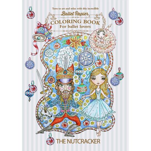 【限定・入荷待ち商品】The Nutcracker Ballet Colouring Book ぬりえ(本体価格:¥800)