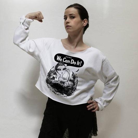 【限定・入荷待ち商品】We Can Do It! Cropped Pullover