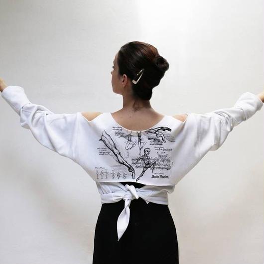 【限定・入荷待ち商品】Dance Anatomy Tie Back Pullover