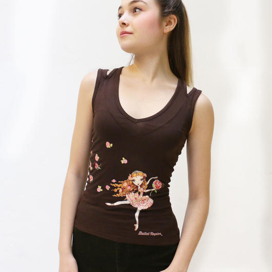 TANK TOP   'ROSE ADAGIO'(本体価格:¥4,900)