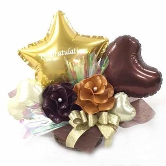 Congrats Balloon flower Happybirthdayアレンジ