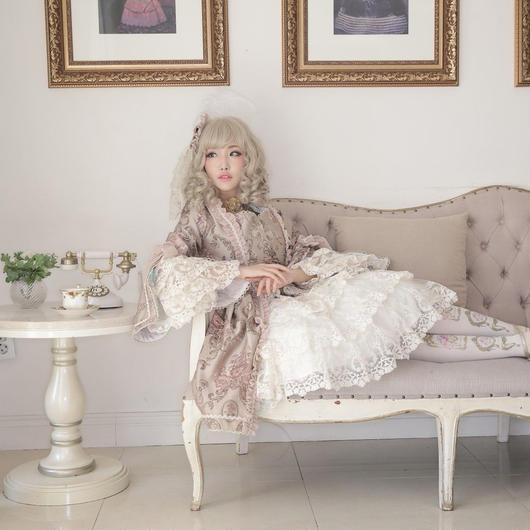 nouvelle mode(ヌーヴェルモード)' レースヘッドドレス 残金決済【ご予約商品、限定商品】