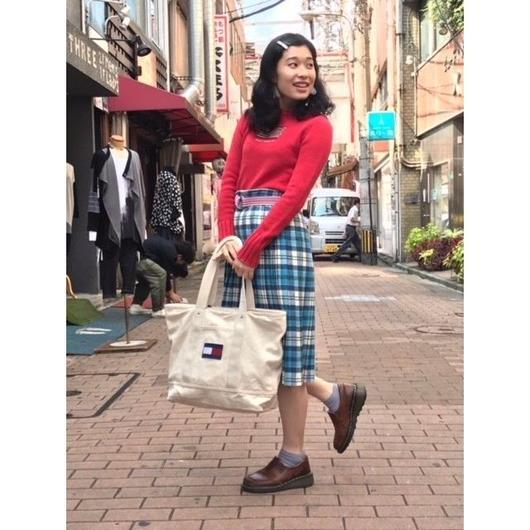 1980年代 Mcttci made in Scotland Wool skirt