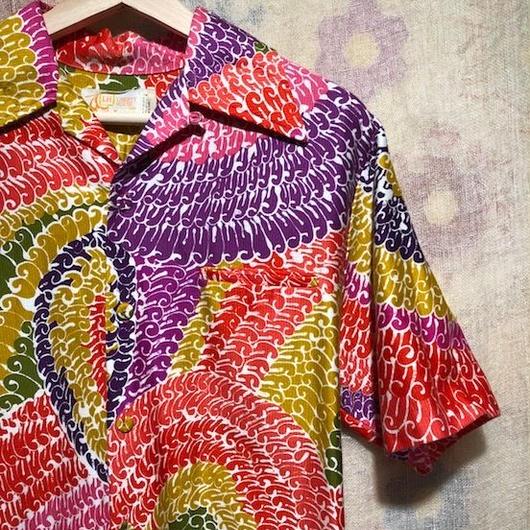 1960s~70s  LIBERTY  HOUSE アロハシャツ