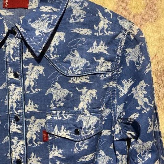 Levi's ウエスタンシャツ