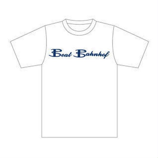 Logo T-Shirt 下地カラー:白/ロゴカラー:ネイビー