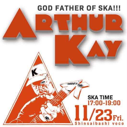 11/23(金)Arthur Kay大阪・前売引換(取置き)第Ⅰ部17:00-19:00 at voco