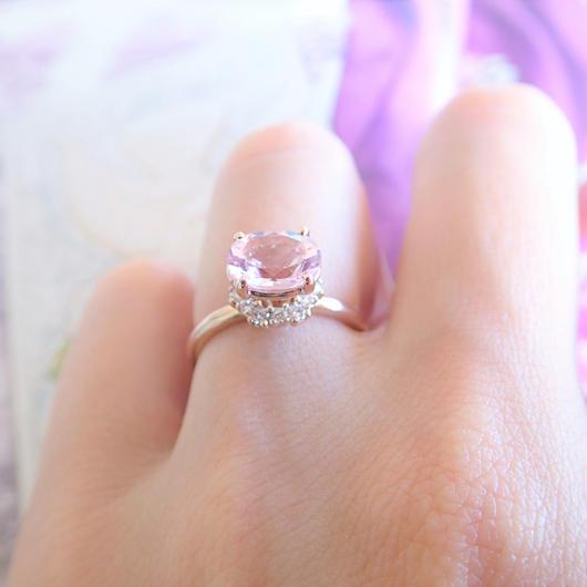 grace ring(モルガナイト)
