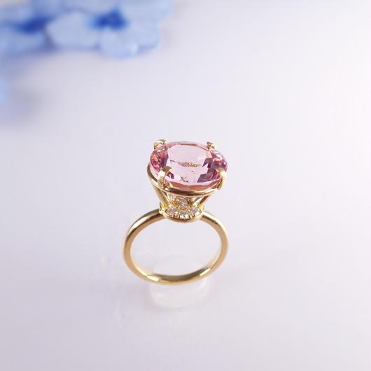 Jewel ring L (モルガナイト)