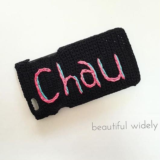 iphoneカバー(chau)