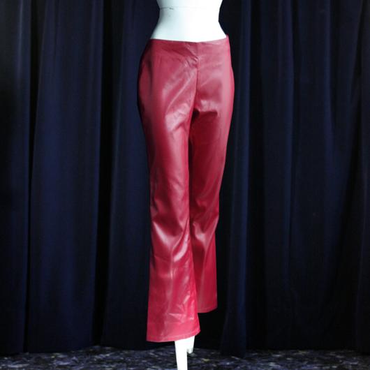 1980's Vintage【Von Mozayt】Red Pants