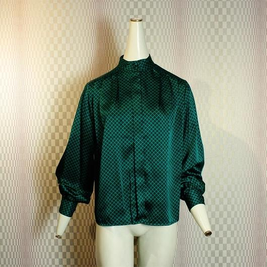 【JH Collectibles】Dark green Long sleeve Blouse