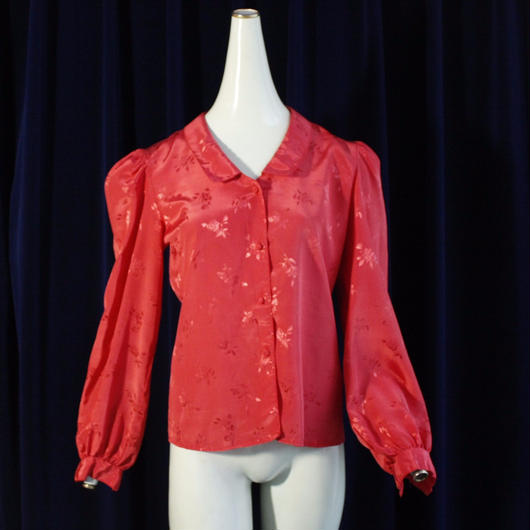 1960's Vintage【PURE-CLASS】Chinoiserie blouse