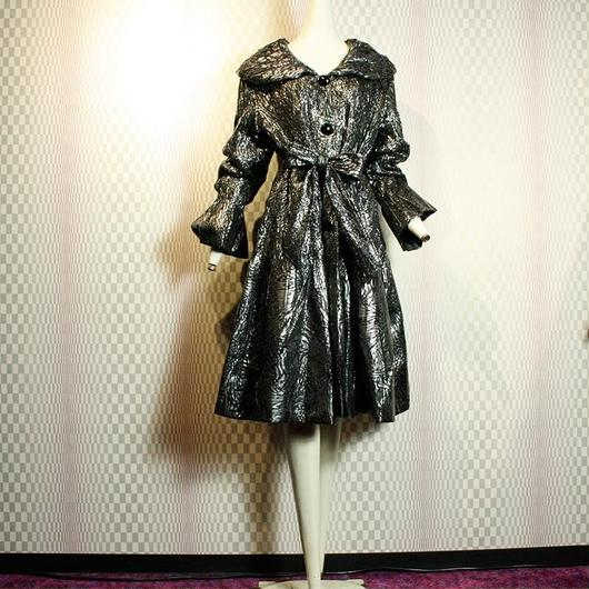 Silver Quilting Coat