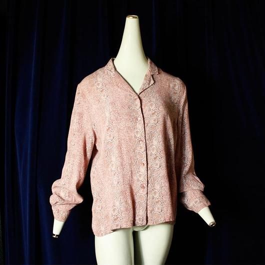 Pink Python Shirt