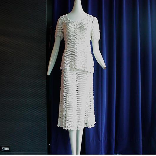 1970's Vintage【KAIMANA IMPORTS】 Crochet Set Up