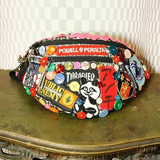 【アンチ】Bottons Waist Bag