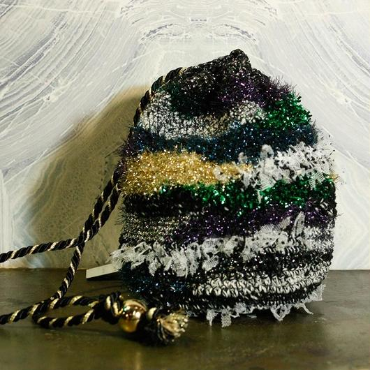 【TICA】Metallic Mosaic Bag