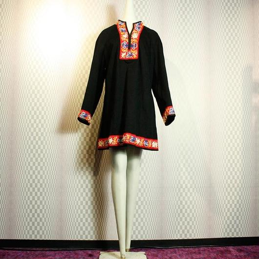 1970's Vintage Tyrolean Wool Dress