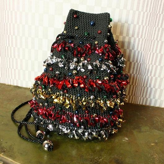 【TICA】Tape Beads Bag (Black)