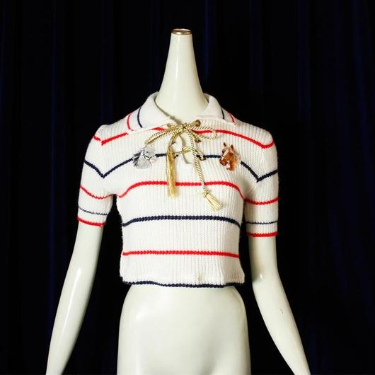 【bed】1970's Vintage Trico  remake Knit