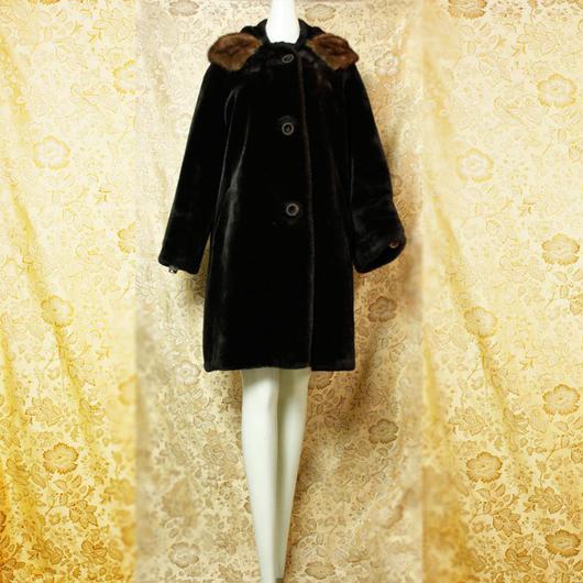 1950's Vintage 【EtLin TORONTO】Fur Coat