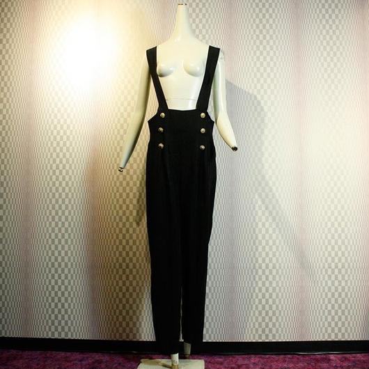 1980's Vintage High waist Overalls