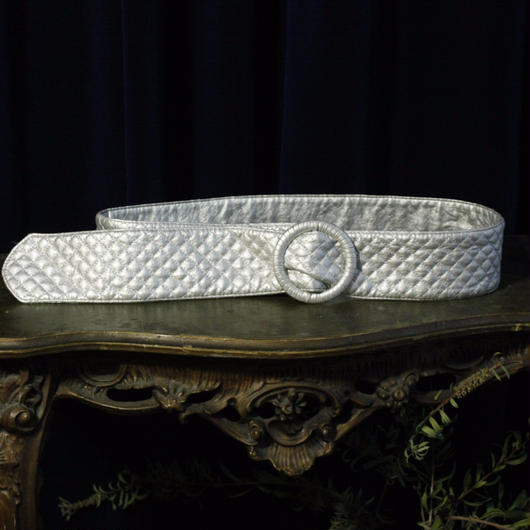 Silver quilting Belt