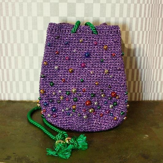 【TICA】Purple Beads Bag