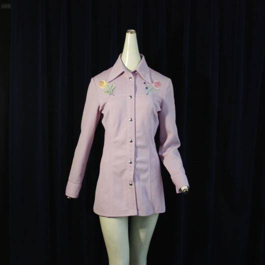1970's Vintage 【Tokki Tu】Flower Western Shirts
