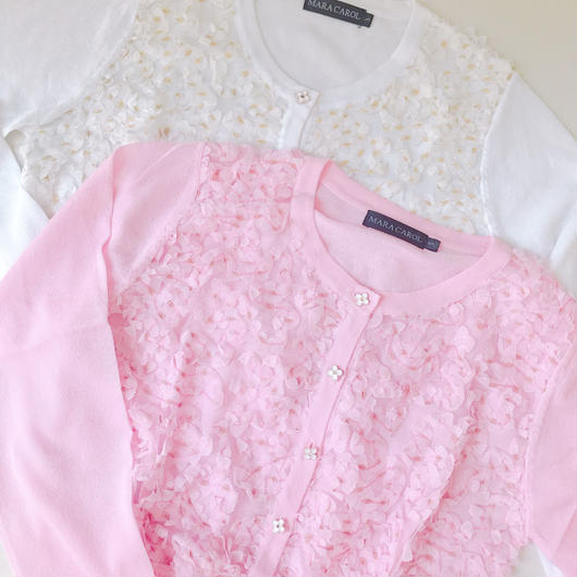flower lace knit