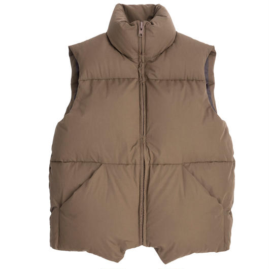 Graphpaper MEN Zanter  for Graphpaer Down Vest ASHBROWN
