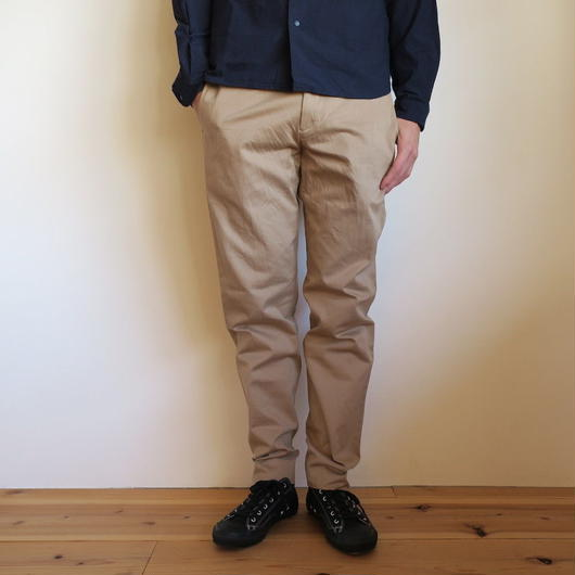 YAECA MEN CHINO CLOTH PANTS スタンダード