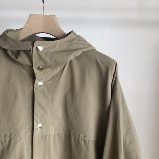 YAECA ユニセックス 60/40クロスフードシャツ KHAKI