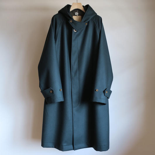 KAPTAIN SUNSHINE Fooded Coat GREEN
