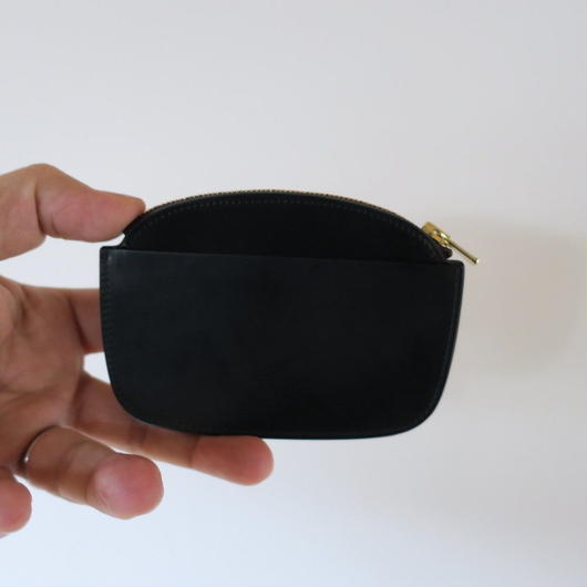 forme coin Purse cordovan BLACK