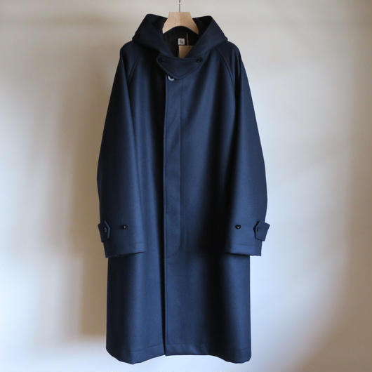 KAPTAIN SUNSHINE Fooded Coat NAVY
