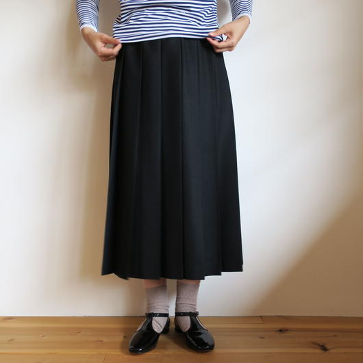 Charpentier de Vaisseau Pleated Skirt Wool long 5colors