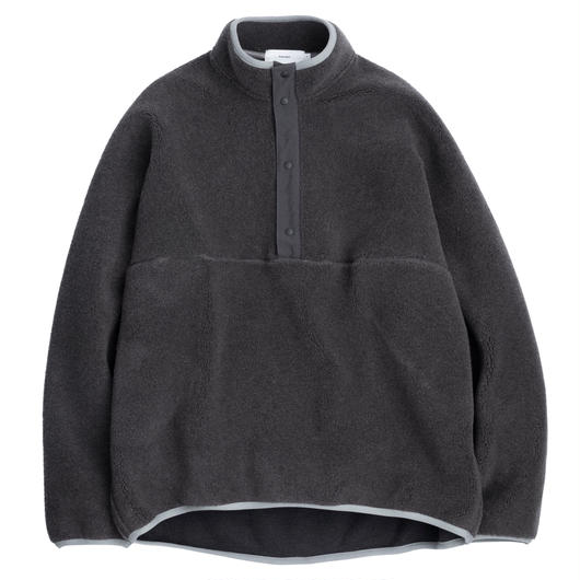 Graphpaper MEN Wool Boa High Neck Pullover GRAY
