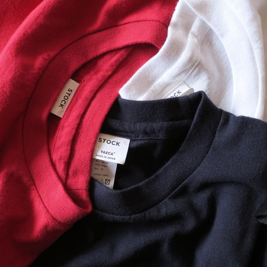 YAECA MEN Crew Neck Pocket Tee 3colors 38004