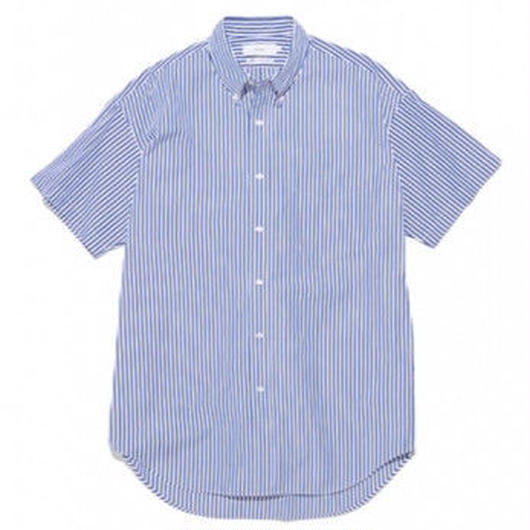 Graphpaper MEN Thomas Mason S/S B.D Shirt STRIPE