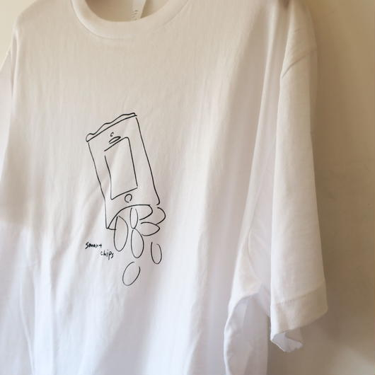 YAECA MEN プリントTシャツ