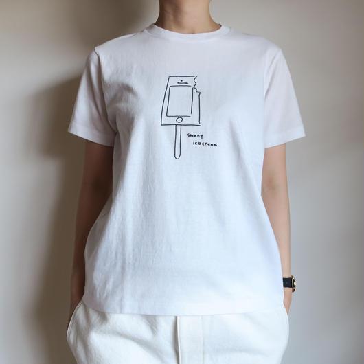 YAECA WOMEN プリントTシャツ